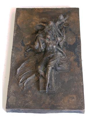 Die Drei Faltigkeiten - große Bronze