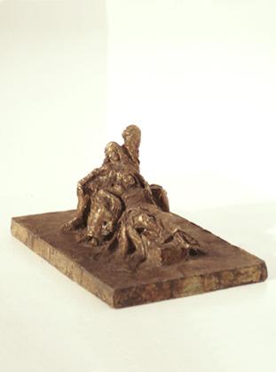 Die Drei Faltigkeiten - kleine Bronze
