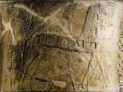 Trojanisches Pferd - Originalvase